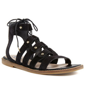 NWT Dune London Lorelli Suede Gladiator Sandals